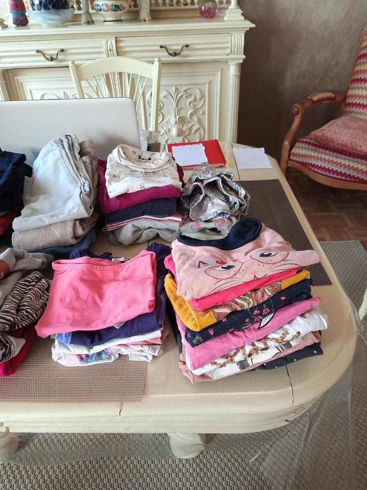Lot 41 pièces filles Vêtements enfants