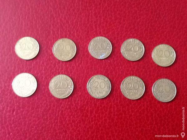 Pièces Françaises de 20 centimes 1 Étampes (91)