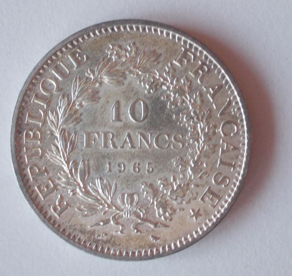 Pièces de 10 francs Hercule Argent 5 Dunkerque (59)