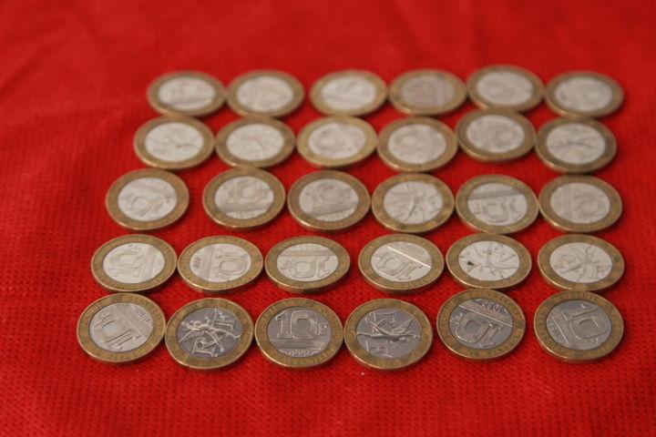 Lot 31 pieces de 10F  Génies de la bastille . 30 Liévin (62)