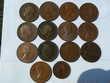 Lot de 14 pièces Grande Bretagne Penny