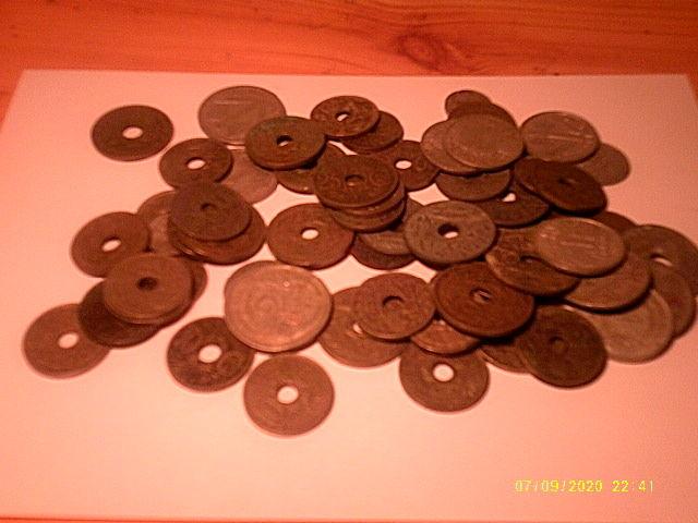 pièces de monaie anciennes 50 Froideconche (70)