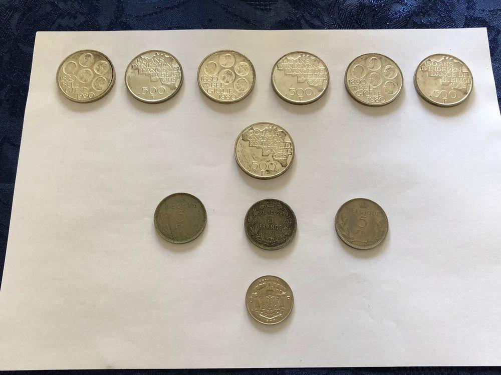 Pièces de monnaie anciennes 0 Hergnies (59)