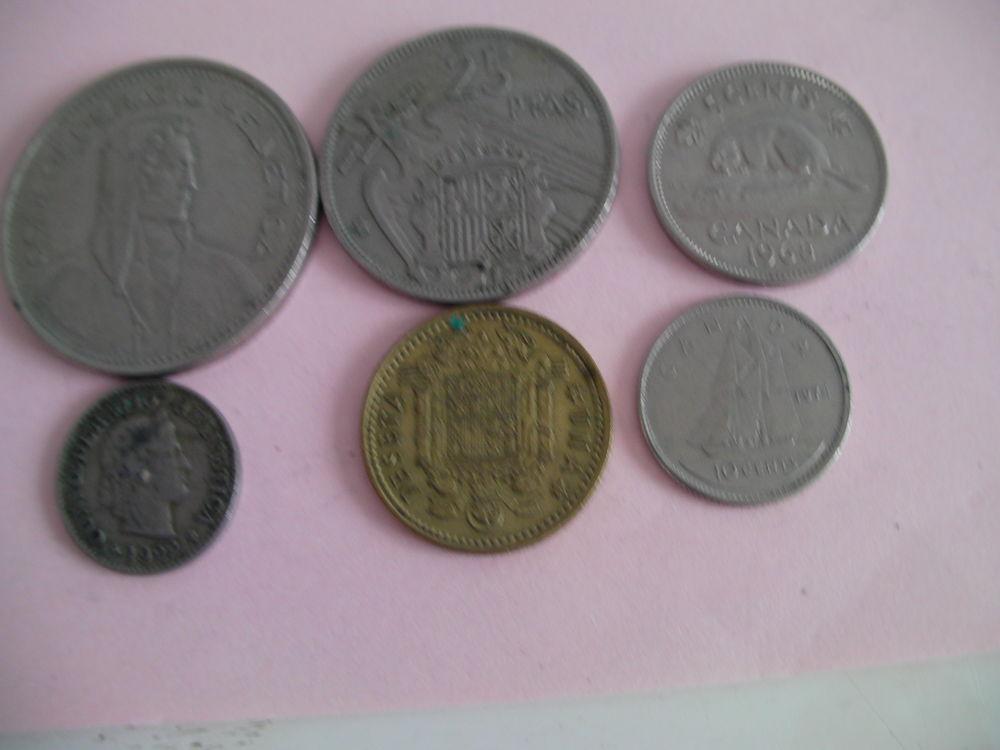 PIECES monnaie CANADA - ESPAGNE 0 Saint-Etienne (42)