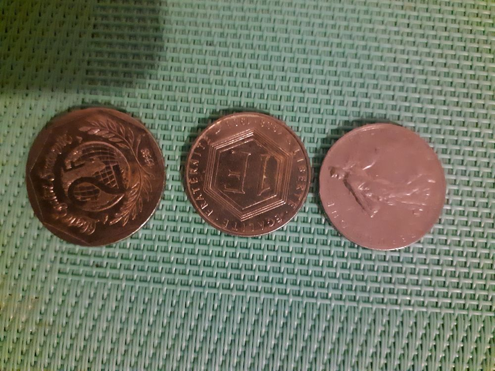 pièces monnaie 0 Évry (91)