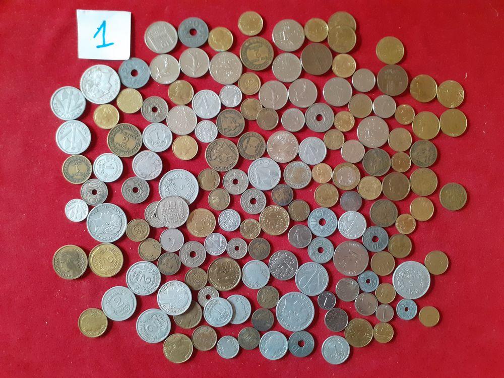 Lot 2 / 150 pieces monnaies anciennes FRANCE 10 Brive-la-Gaillarde (19)