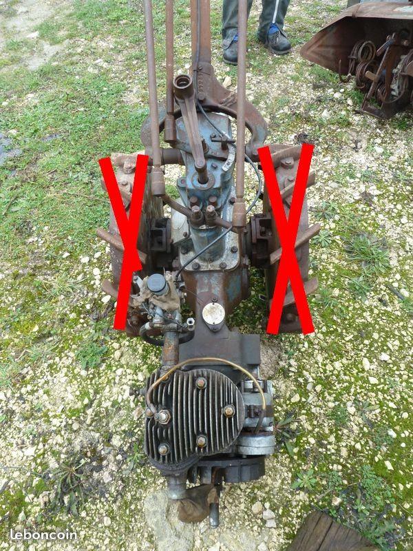 Pièces de motoculteur STAUB PP4 ancien 100 Verneuil-sur-Avre (27)