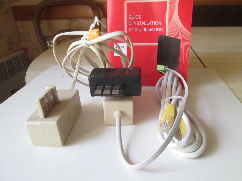 Pièces pour installation box SFR