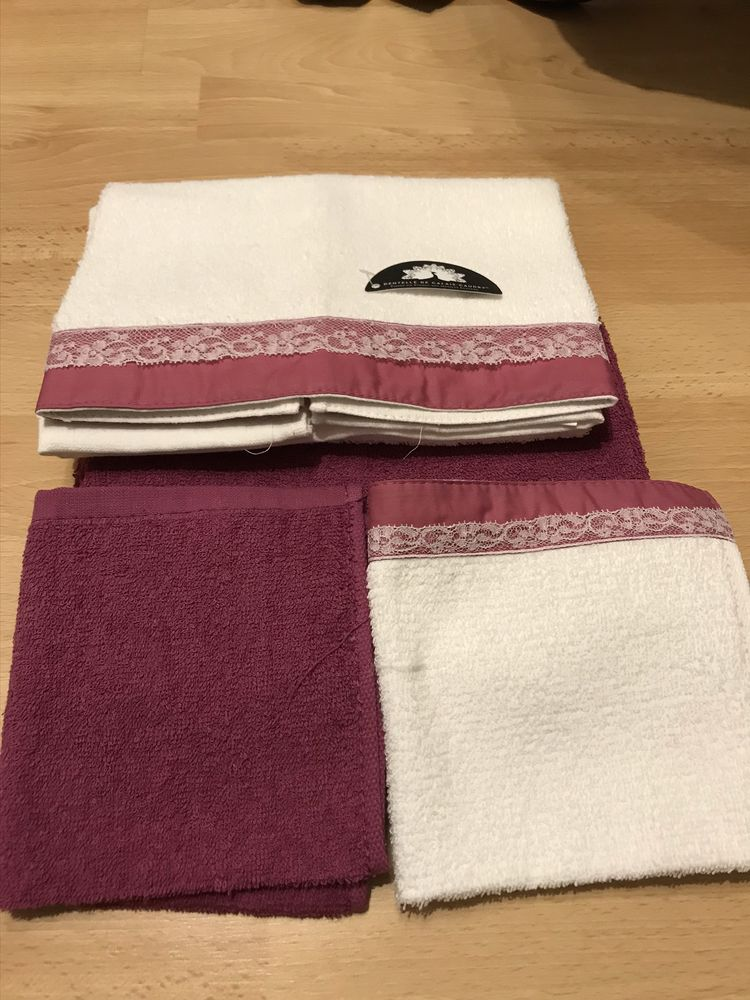4 pieces de toilette rose & blanc 15 Saint-Genis-Laval (69)