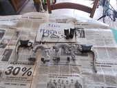 pièces de vélo freins mafac complet et guidon course vintage 1 Abilly (37)