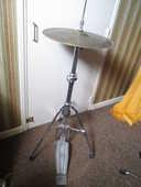 Pied charleston Pearl plus 2 cymbale Avenis ZILGJIAN Hi-Hat 200 Castres (81)