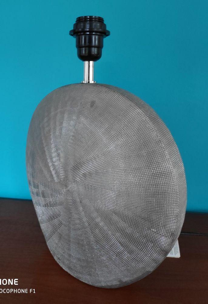 Pied de lampe argenté 15 Grand-Champ (56)