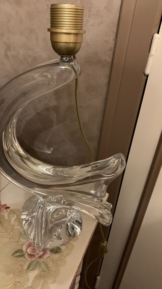 Pied de lampe cristal 150 Pont-Aven (29)