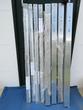 8 pieds de boîtes aux lettres en aluminium neufs: 1,50 m