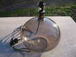 Pieds de lampe verre fumé Décoration