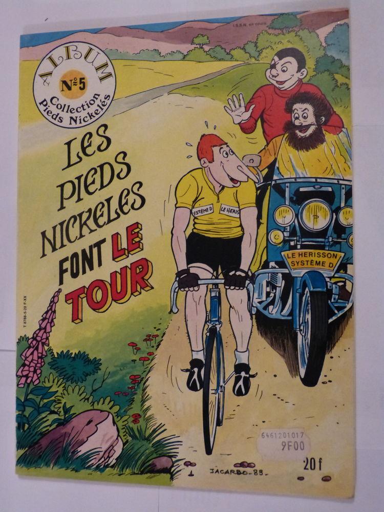 BD - LES PIEDS NICKELES FONT LE TOUR - édition originale Livres et BD