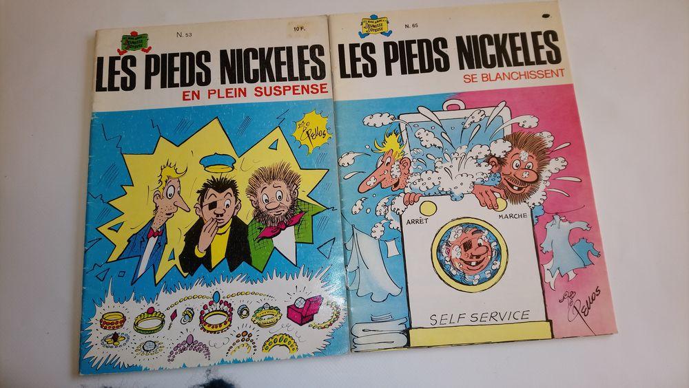 LES PIEDS NICKELÉS  (lot de 7bd) 50 Compiègne (60)
