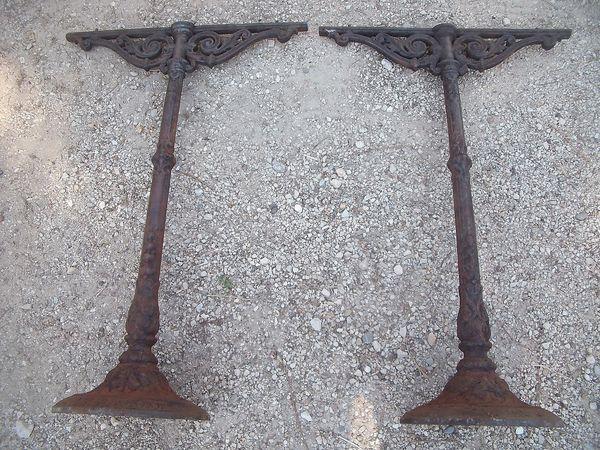 Achetez pieds de table fonte occasion annonce vente - Pieds de table en fonte ...