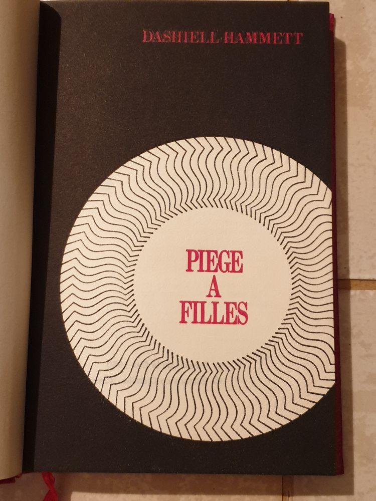 Piège a filles de Dashiell Hammett  roman policier 1972 1 Marseille 9 (13)