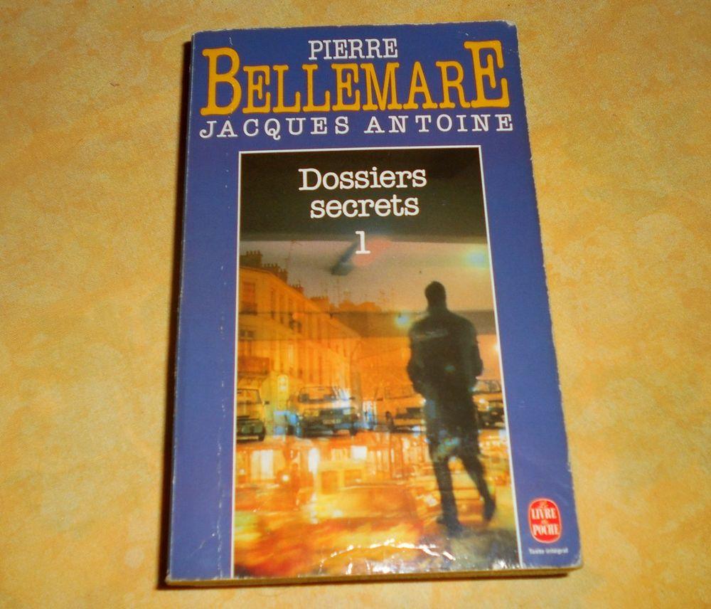 Pierre Bellemare J Antoine dossier secret 1 Livres et BD
