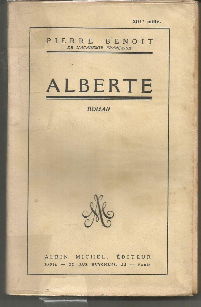 Pierre BENOIT : Alberte 5 Montauban (82)
