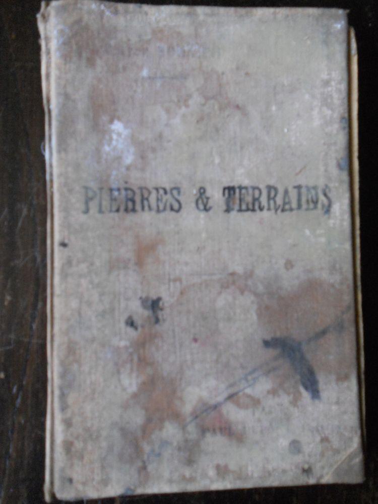 PIERRES & TERRAINS. Gaston Bonnier.1901 16 Tours (37)