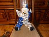 PIERROT tête porcelaine suspension 4 Ancenis (44)