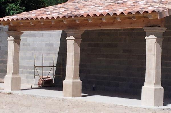 Achetez pilier portail occasion annonce vente montpezat 30 wb149741003 - Pilier de portail en pierre ancien ...