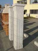 Piliers en pierre granit  860 Annecy (74)