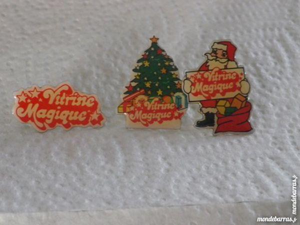 LOT DE 3 PINS VITRINE MAGIQUE 3 Attainville (95)