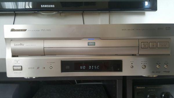 pionner laser  disc DVL 919 E   499 Saint-Crépin-Ibouvillers (60)