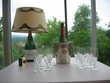 PIPER : 24 flûtes + lampe + seau Champagne Le Vernois (39)