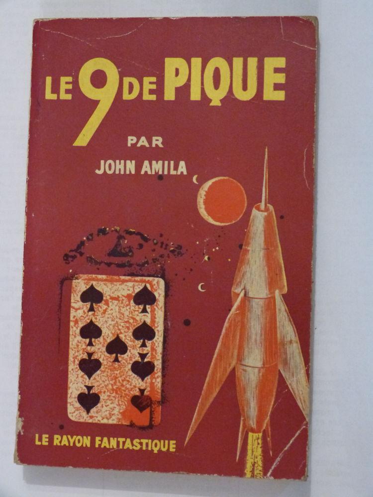 LE 9 DE PIQUE  roman  SCIENCE FICTION 6 Brest (29)