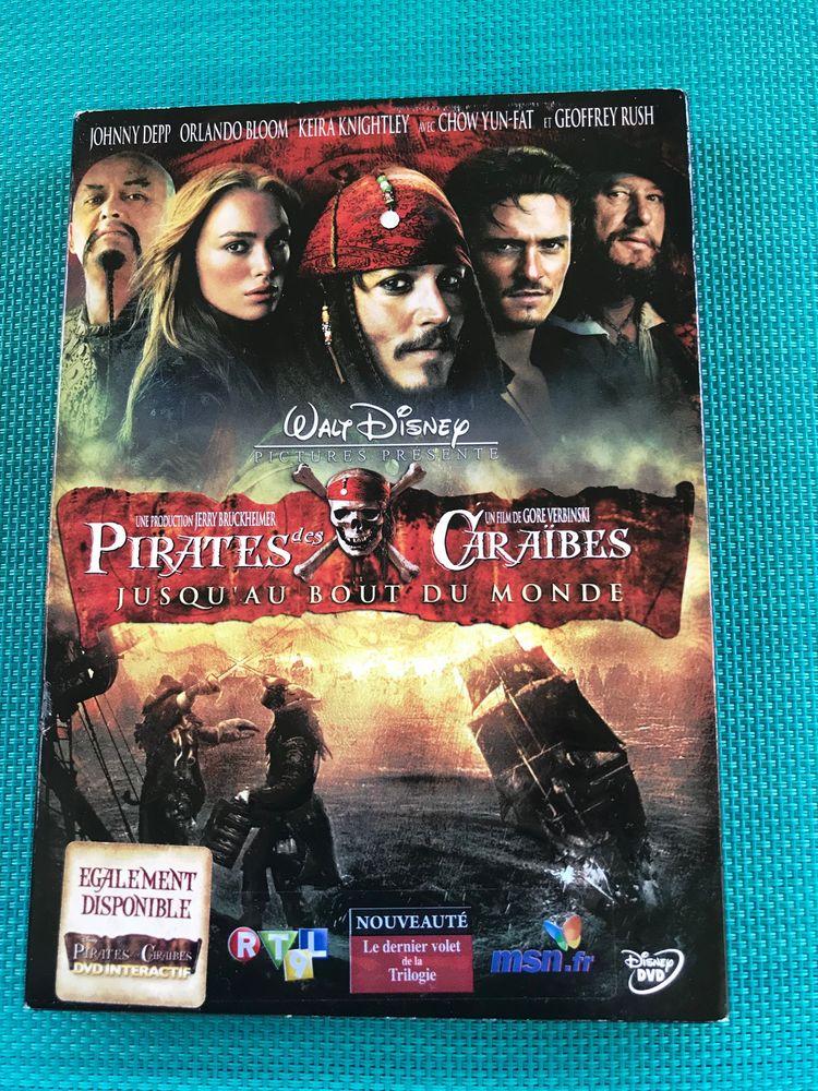 DVD Pirates des Caraïbes Jusqu'au bout du Monde 9 Strasbourg (67)