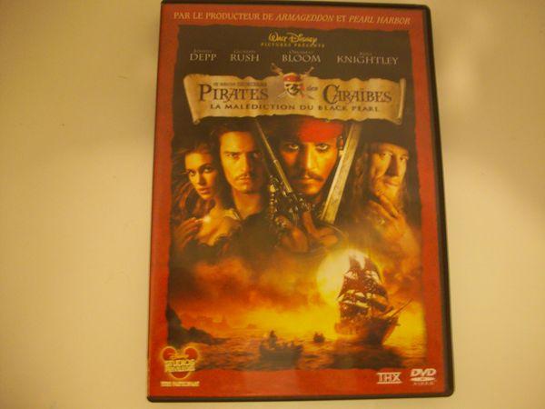 DVD Pirates des Caraïbes La Malédiction du BP 2 Agnetz (60)