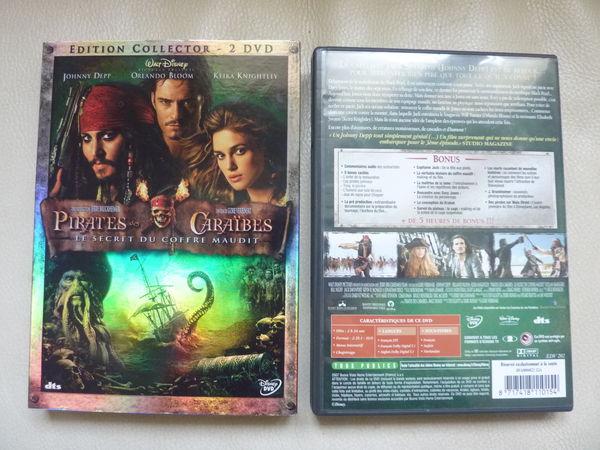 DVD   Pirates des Caraïbes   . 6 Viroflay (78)