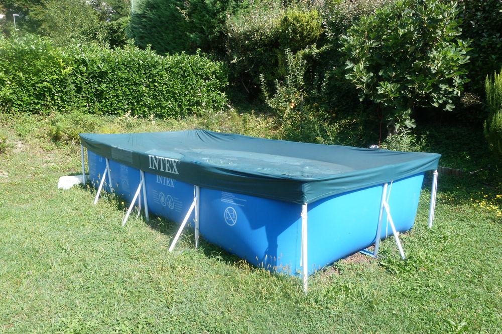 piscine autoportante intex 400 x 200 x 075 Jardin