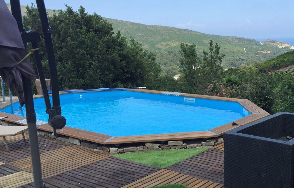 piscine bois 7.30