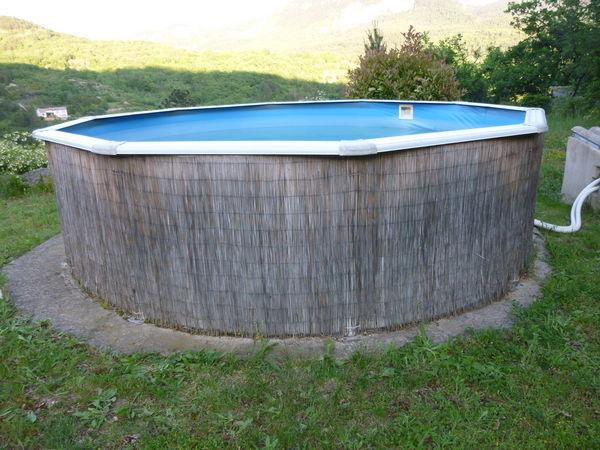 Achetez piscine hors sol occasion annonce vente saint tienne de gourgas 34 wb149876934 - Abri piscine hors sol saint etienne ...