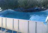 piscine hors sol 2000 Les Avirons (97)