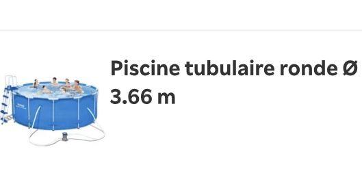 Piscine tubulaire ronde 366 Hauteur 22 best way pro 0 Erbalunga (20)