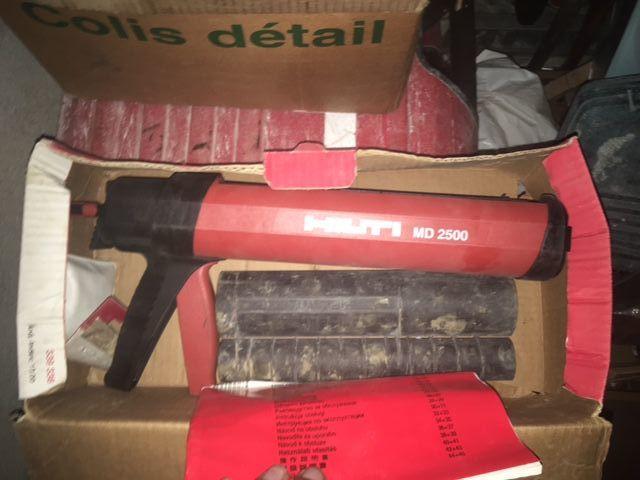 pistolet de scellement HILTI MD 2500 Bricolage