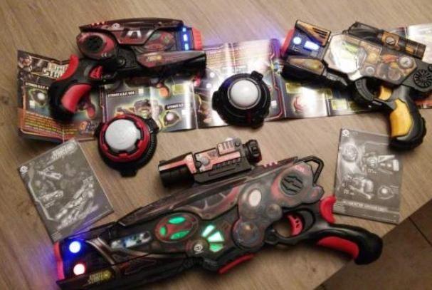 Pistolets de type laser game pour jouer chez soi 40 Le Pontet (84)