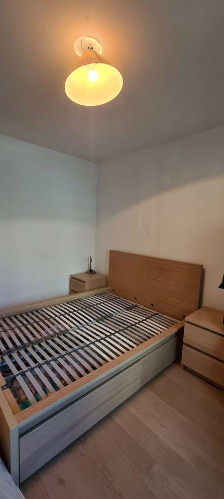 lit 2 places avec tables de chevet 190 Courbevoie (92)