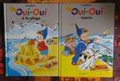 LOT 2 OUI-OUI (à la plage/marin) gd format Hachette Jeunesse 5 Attainville (95)