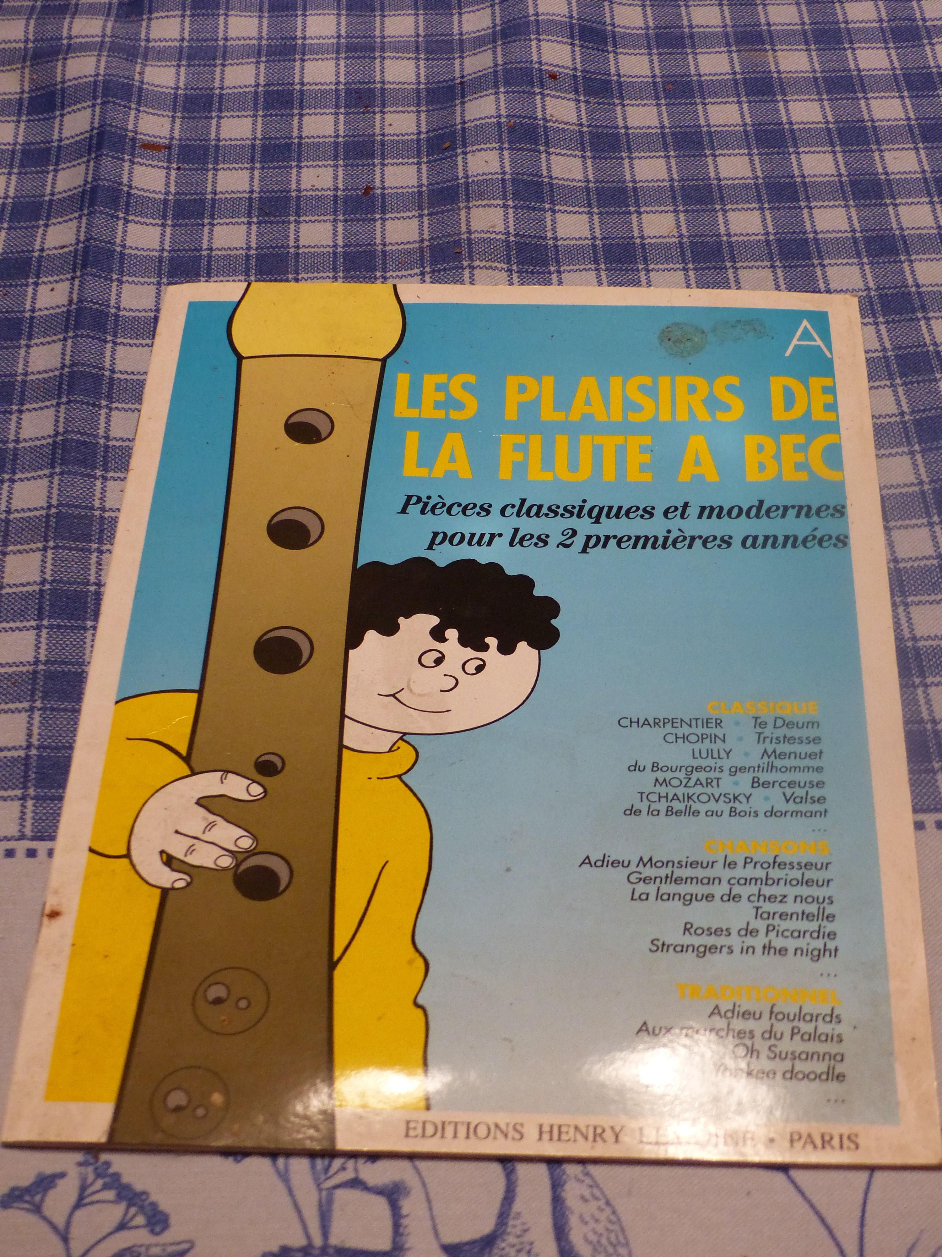 LES  PLAISIRS  DE  LA FLUTE  A BEC 6 Roclincourt (62)