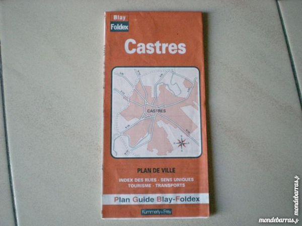 Plan guide Blay     Castres     1 Saleilles (66)