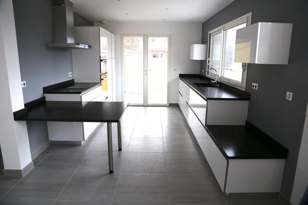 Plan de travail en granit ou compact quartz Décoration