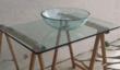plan vasque en verre avec vasque à poser en verre.   0 Gargas (84)