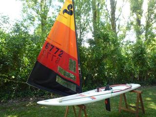 planche à voile SAILBOARD Delta 79 250 Sougy-sur-Loire (58)